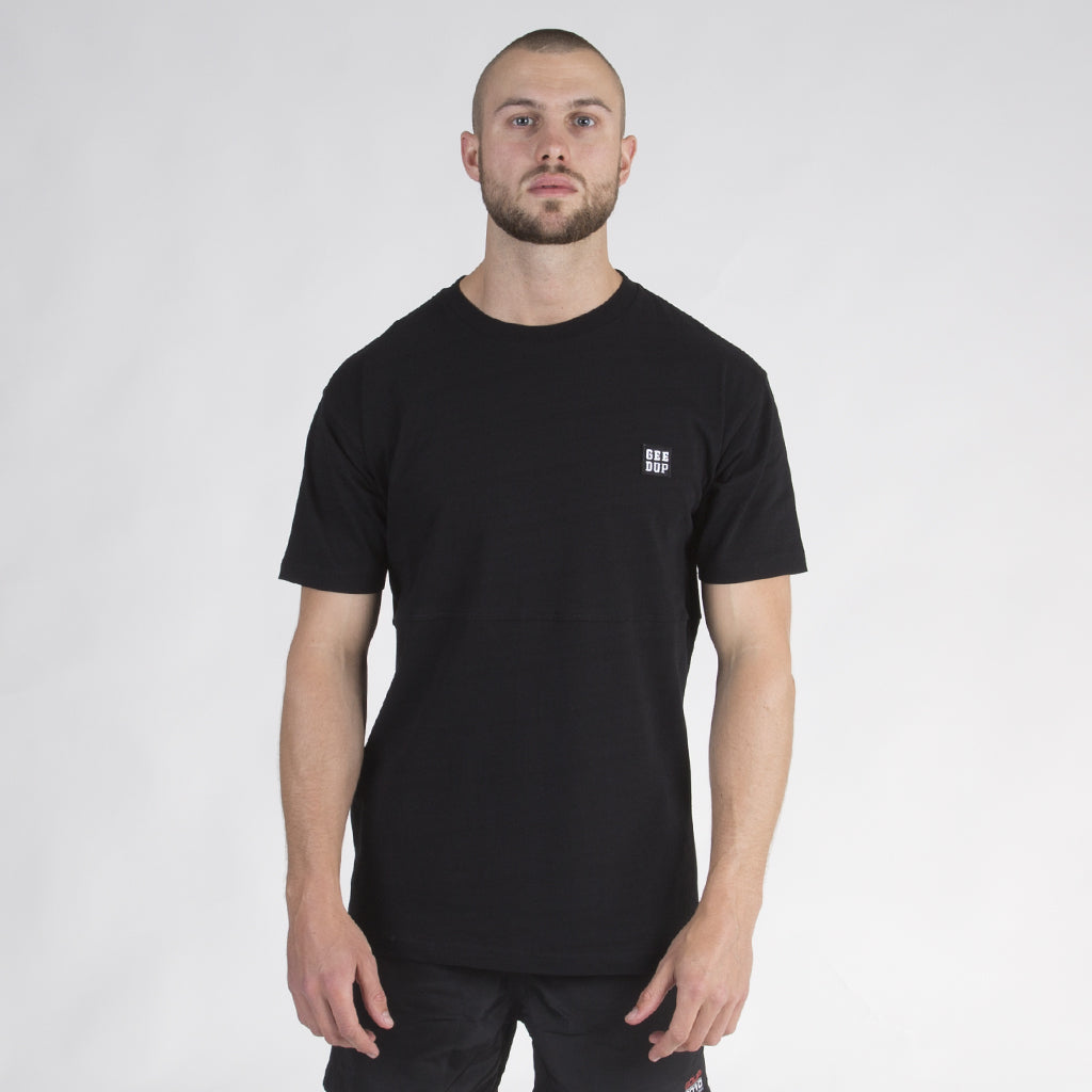 Box Badge Tee - Black