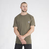 Amstaff Badge Tee - Khaki