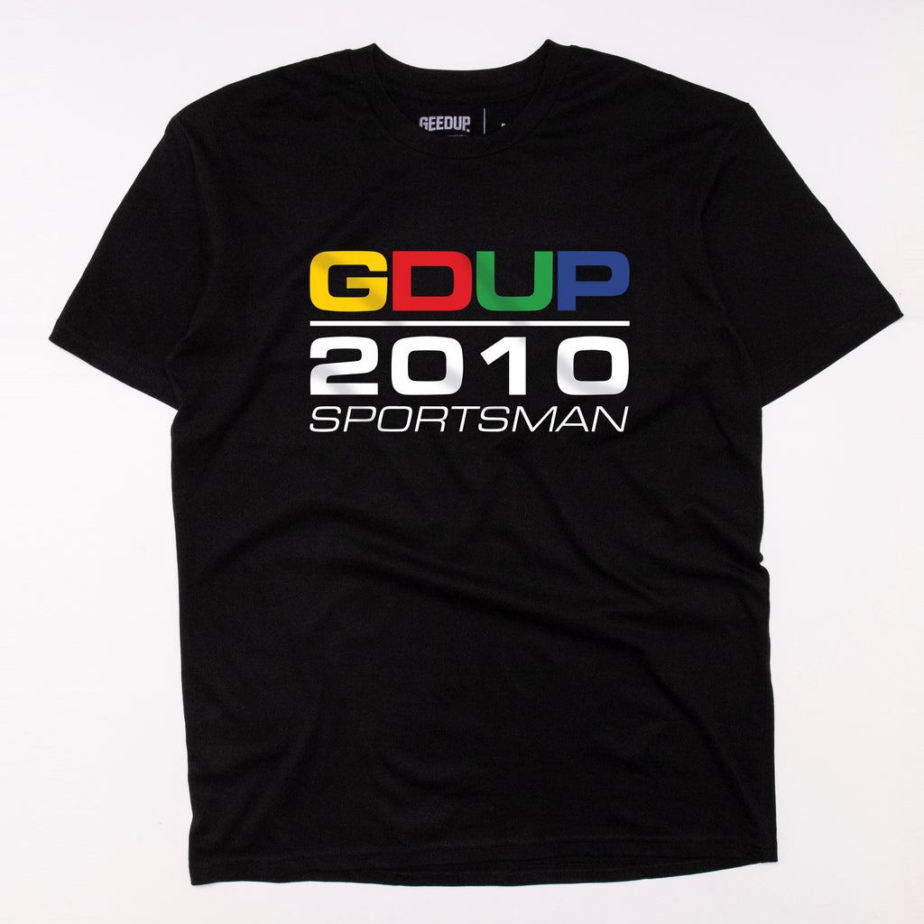 Sportsman 2010 Tee Black