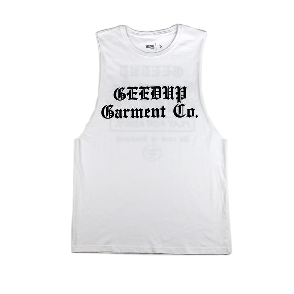 Garment Co Tank Top White