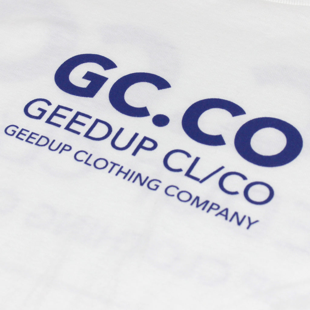 GC.CO Tubular Tee - White