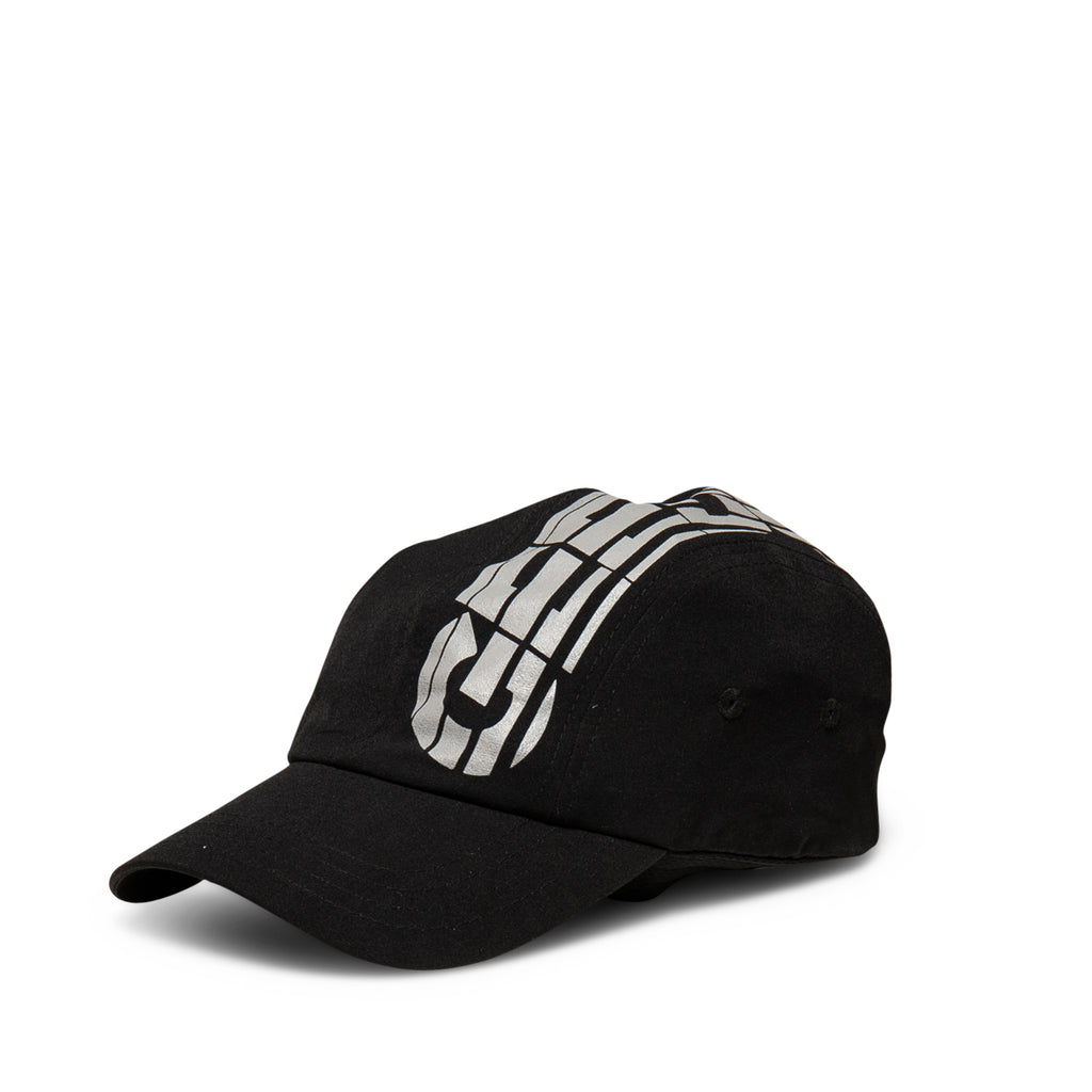 O/S Sportsman 4 Panel Strapback Black