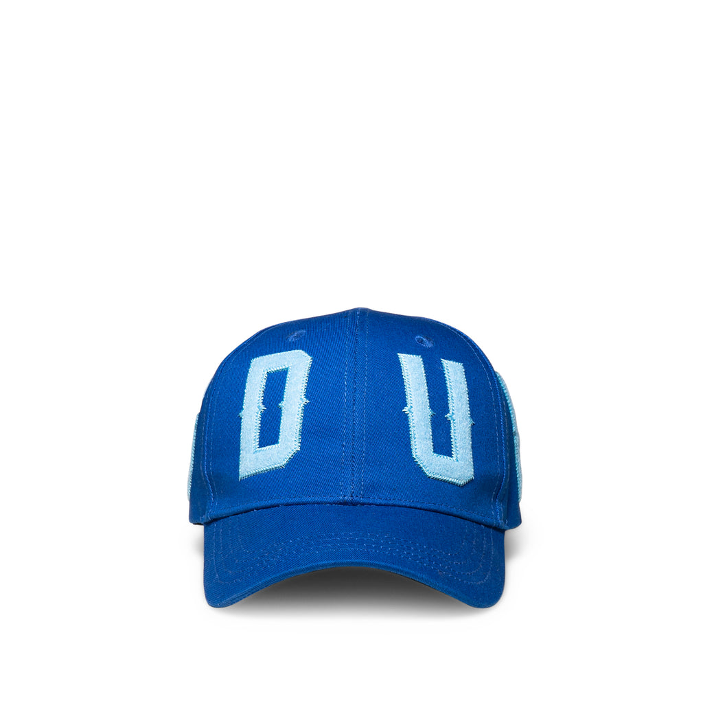 OS CORE Logo Panel Snapback Blue
