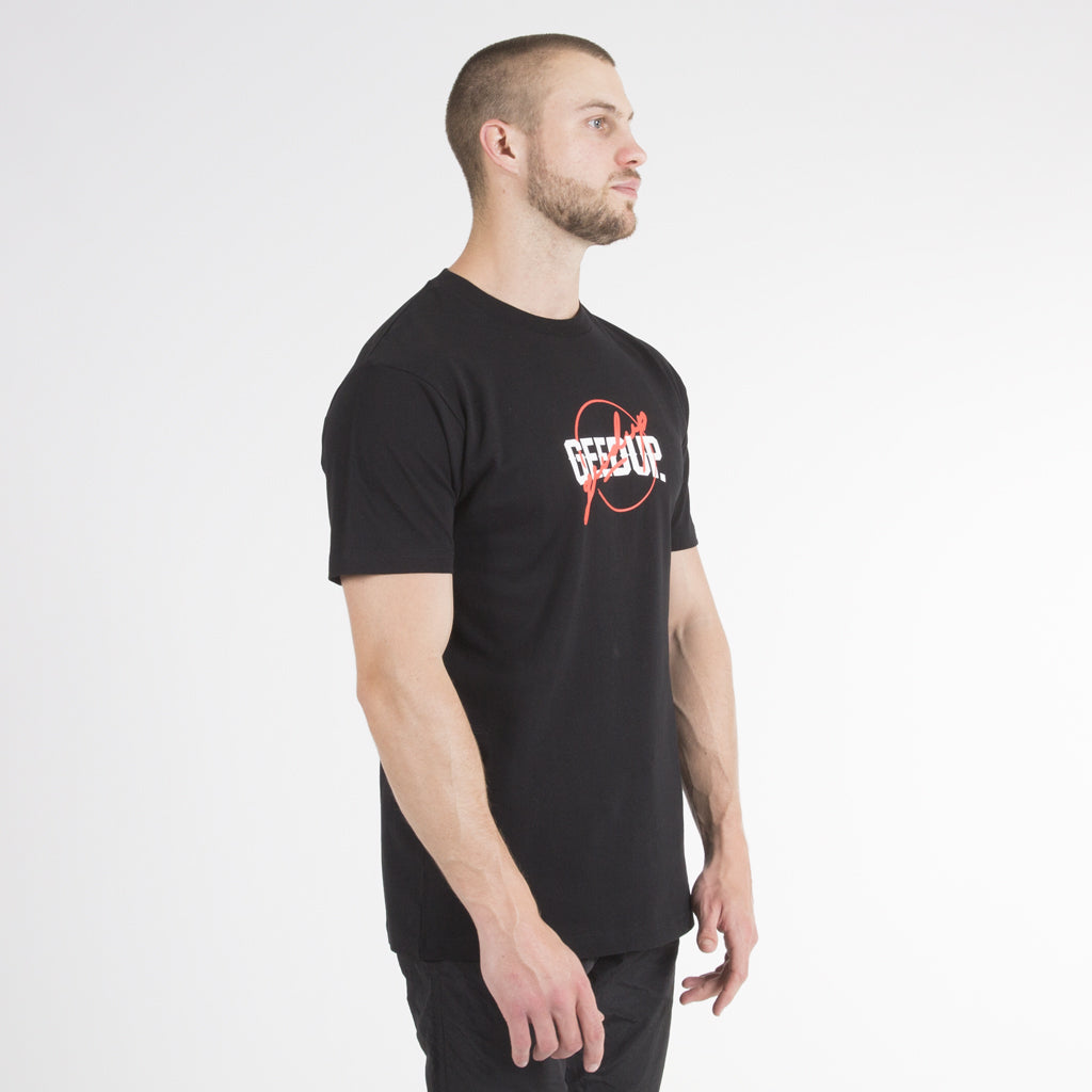 Double Up Tee - Black