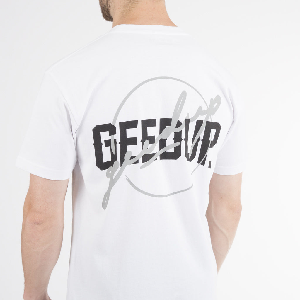 Double Up Tee - White