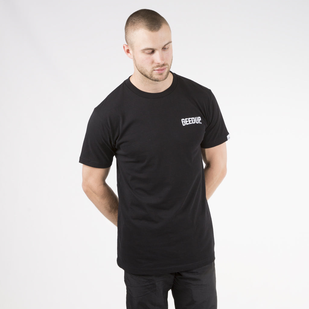 Core Embroidered Tee - Black