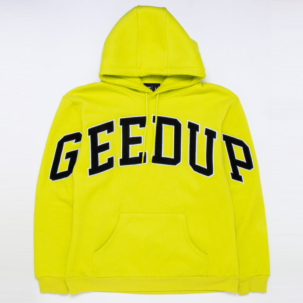 Team Logo Hoody Hyper Lime
