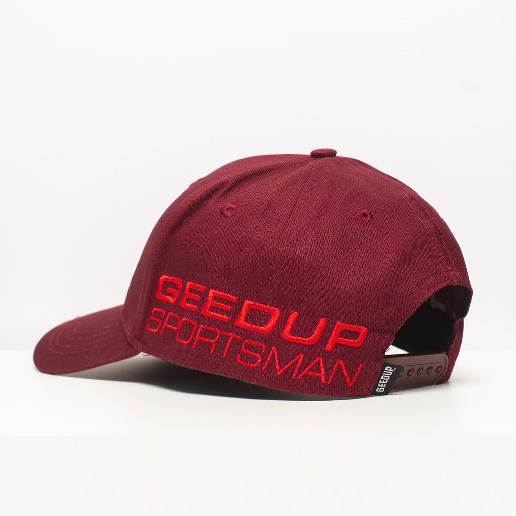 Sportsman 2.0 Deep Red Cap