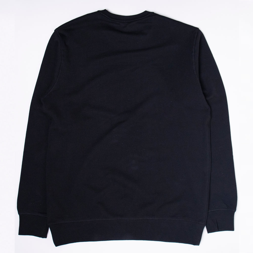 Core Logo 2 Tone Crewneck Black