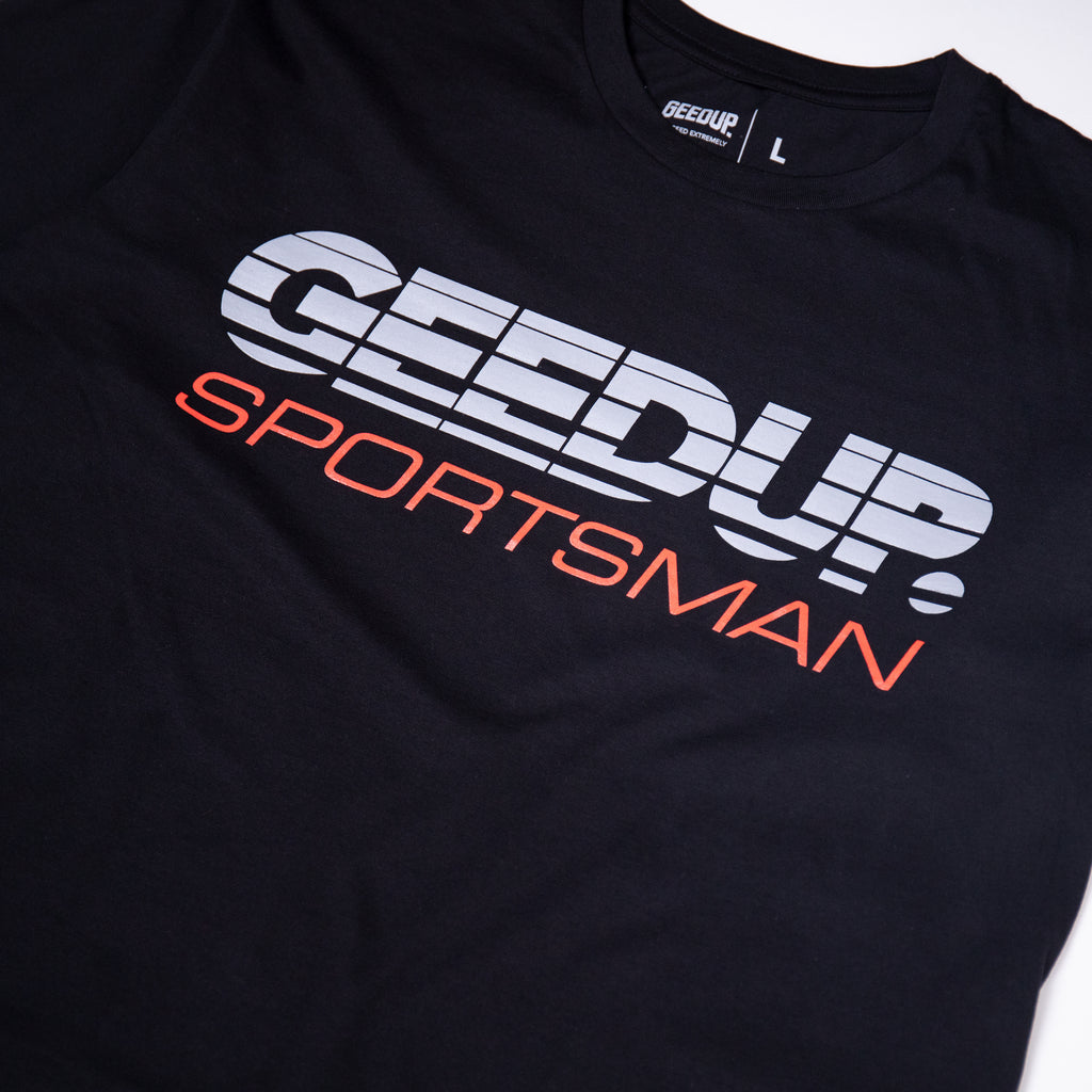 SPORTSMAN Tee Black/Grey