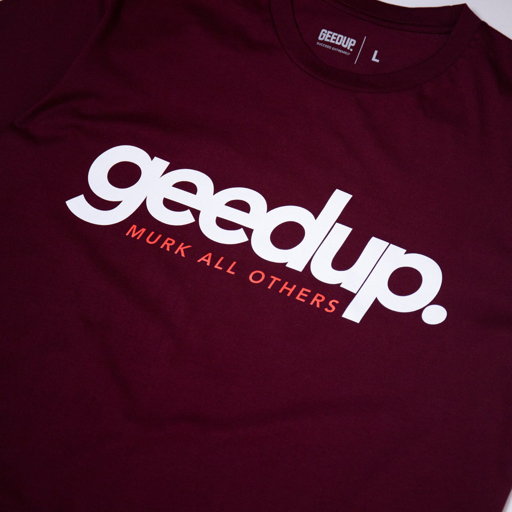 Murk All Others Tee Maroon