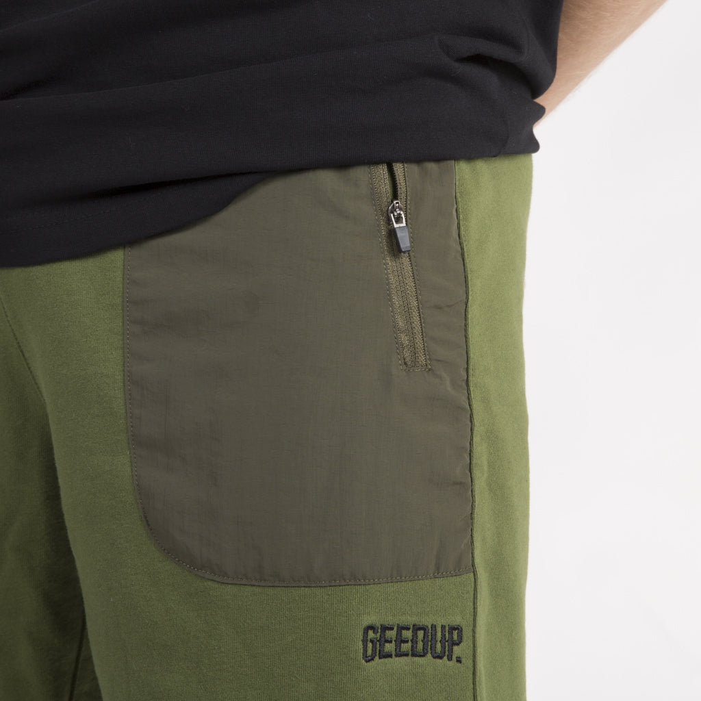 Core Logo Tech Shorts - Khaki