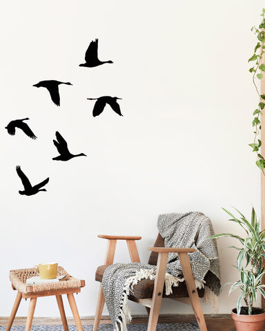 Birds in flight (set of 6)