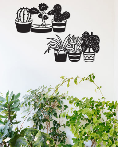 House plants (Set of 2)