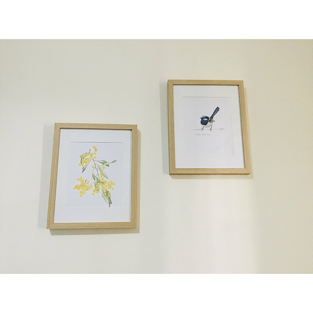 Little Wren set of 2x - Australian print