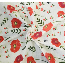 Load image into Gallery viewer, Field of poppies - swaddle set