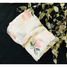 Load image into Gallery viewer, Blush pink roses - swaddle set
