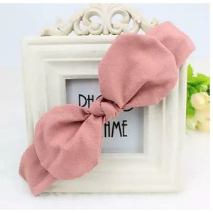 Hair Bow Pink