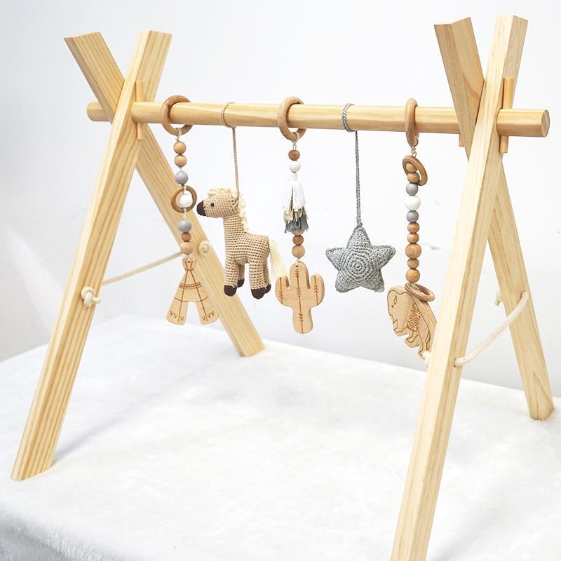 COMING SOON - Wooden Play Gym Cowboy