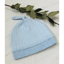 Load image into Gallery viewer, Newborn Beanie 3x colours Organic Cotton