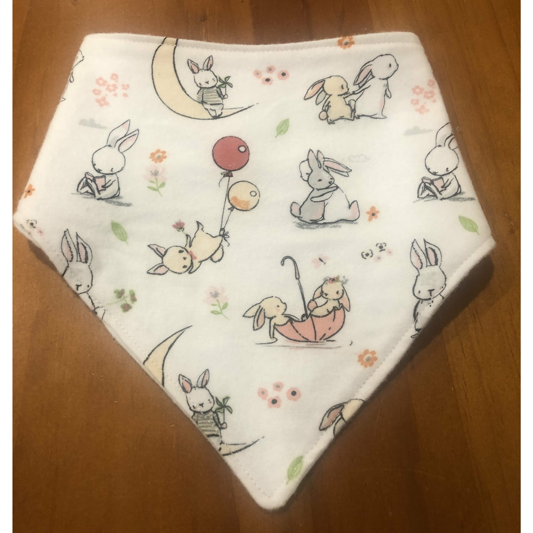 Bunny Bib - Australian made multi colour