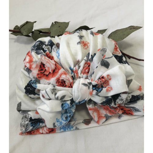 Floral Turban 0-12months