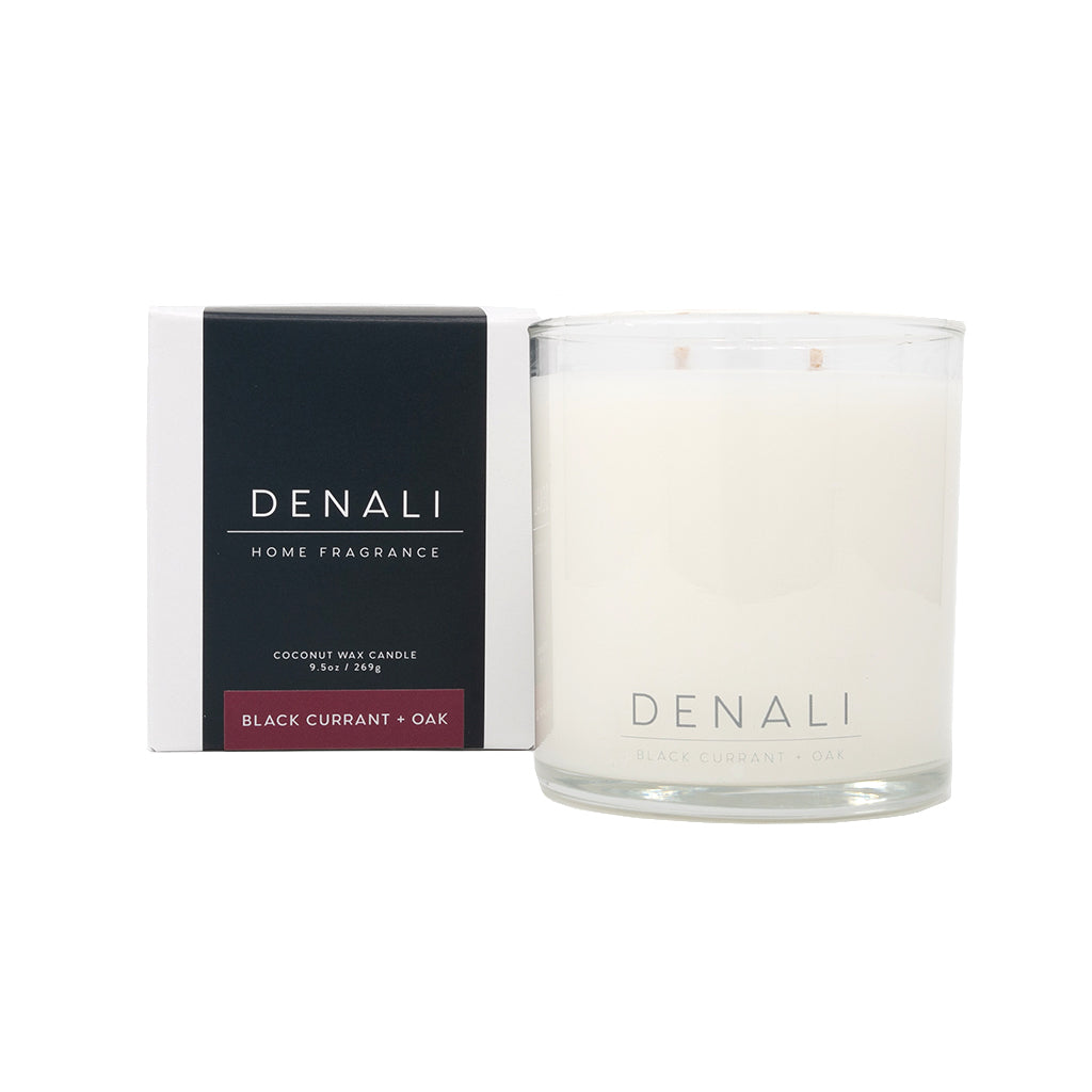 Black Currant + Oak Candle