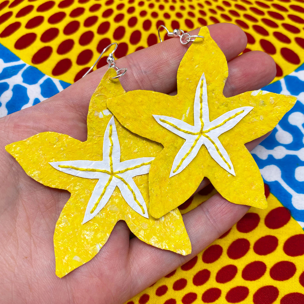 Starfruit earrings