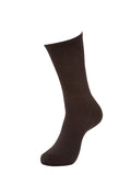 *NEW* FITTED CREW SOCK 1.0 - Black (2 pack)