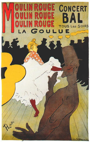 Henri de Toulouse-Lautrec, Moulin Rouge : La Goulue, 1891