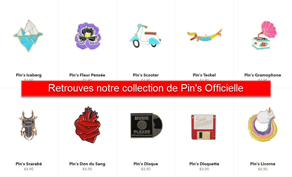 Pin's collection officielle