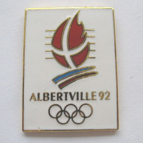 Pin's jeux olympiques Albertville 1992