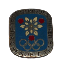 Pin's jeux olympique Grenoble 1968