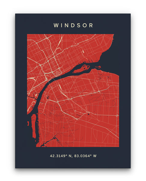 Windsor Map