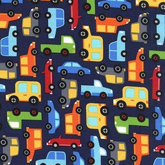 Cars & Trucks Fabric