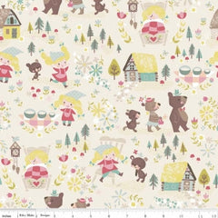 Goldilocks Cotton fabric by Riley Blake for Children