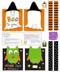Sew your own Trick or Treat bag for Halloween