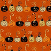 Witchy Pumpkins Halloween Fabric