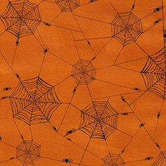 Witchy Spider Web Halloween Fabric