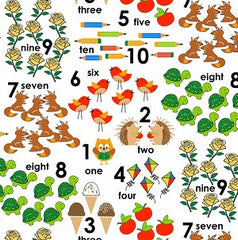 School Rules Fabric Counting