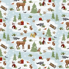 A Time of Wonder Christmas Fabric
