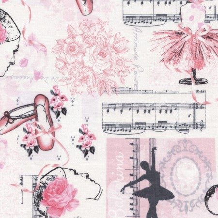 Ballet Collage Cotton