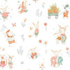 Bunny Tales Cream Fabric