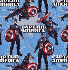 Captain America Marvel Fabric