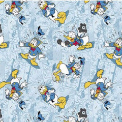 Donald Duck Faces Fabric