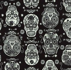 Halloween Fabric Glow Folklore
