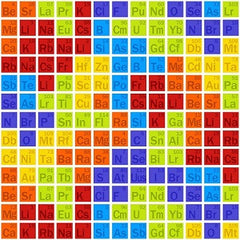 Geek Chic Periodic Table Fabric