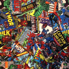 Marvel Comics Fleece Fabric for Children