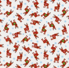 Christmas Fabric Cotton Mini Reindeer