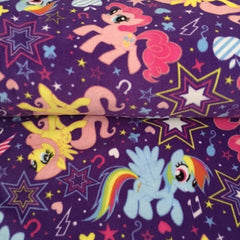Pony Cuties Fleece Fabric